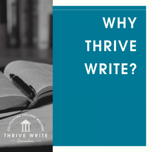 Why Another Writing Curriculum?