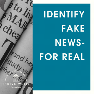 Identify Fake News – For Real